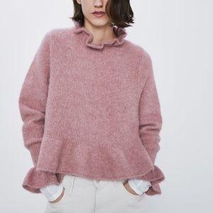 Zara Alpaca and Wool Blend Sweater